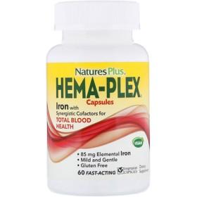 ヘマプレックス、ベジタリアンカプセル60錠