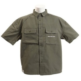 VISION ワッペンワークシャツ 9523129-31KHA (Men's)