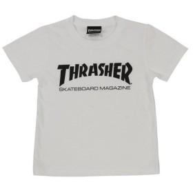 THRASHER ジュニア MAG ロゴ Tシャツ TH8101KW-HL (Jr)
