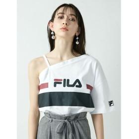 FILA×EMODA 別注 ワンショルダーTシャツ レディース