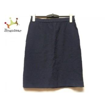 ニジュウサンク 23区 スカート サイズ40 M レディース 美品 ネイビー ラメ スペシャル特価 20190902