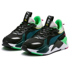 【プーマ公式通販】 プーマ RS-X TOYS メンズ Puma Black-Blue Atoll |SHOES|PUMA.com