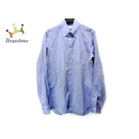 インディビジュアライズドシャツ 長袖シャツ サイズ15-33 メンズ ライトブルー STANDARD FIT  値下げ 20190727
