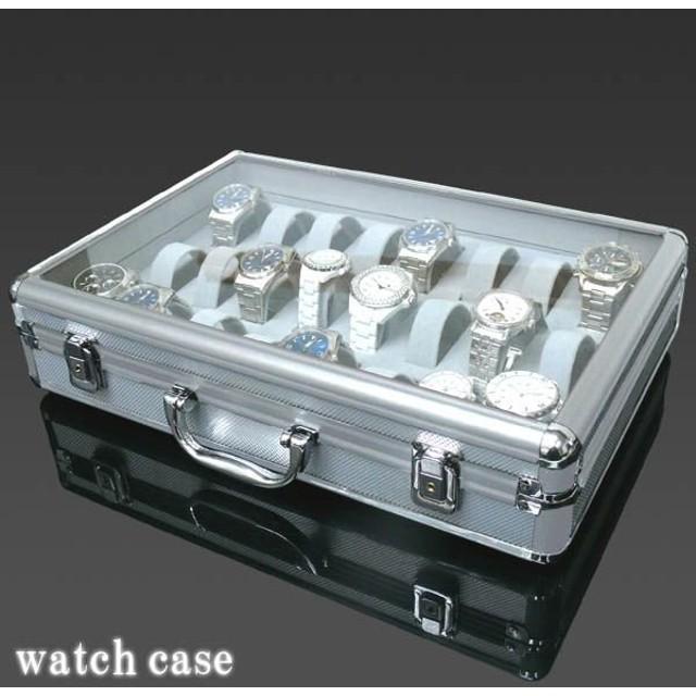 competitive price 1c33f 7b2c7 腕時計ケース 時計収納 コレクション 24本収納 アルミ 鍵付き ...