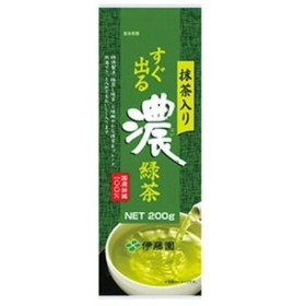 (まとめ)伊藤園 すぐ出る濃緑茶 抹茶入り〔×10セット〕【配達日時指定不可】