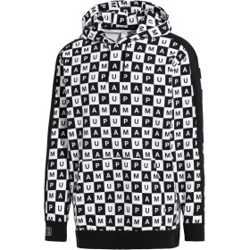 【プーマ公式通販】 プーマ CHECKBOARD T7 HOODIE メンズ Puma Black-Puma White - AOP |CLOTHING|PUMA.com