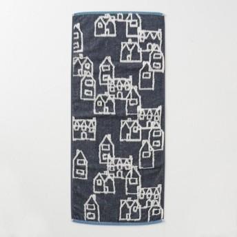 タオル 吸水力のある無撚糸と中空糸のタオル チャコールグレー おうち フェイスタオル