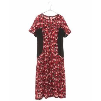 HIROKO BIS / ヒロコビス 【洗濯機で洗える】ランダムドットプリントドレス