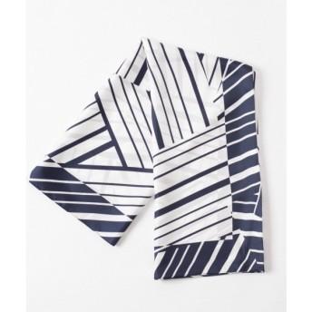 GRACE CONTINENTAL / グレースコンチネンタル ジオメストライプスカーフ