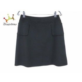 フォクシー FOXEY スカート サイズ40 M レディース 美品 黒   スペシャル特価 20190730