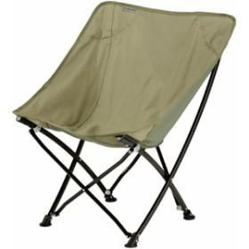バンドック(BUNDOK) アウトドア用品 バケットチェア カーキ BD-180 KA 【アウトドア バーベキュー キャンプ チェア 椅子 収束型 BBQ】