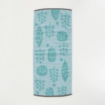タオル 吸水力のある無撚糸と中空糸のタオル ブルーグリーン こだち バスタオル