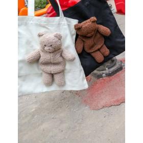 [merry jenny]Teddyキャンバスtote