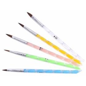 (ウォームガール)Warm Girl ネイルアート アクリル用ブラシ ドットペン 5本セット ネイルデザイン 人気なセット