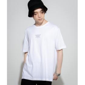 Tシャツ - WEGO【MEN】 タイポグラフィプリントTシャツ WE19SM04-M0346