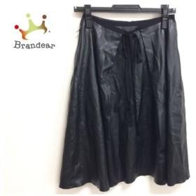 フォクシーニューヨーク FOXEY NEW YORK スカート サイズ38 M レディース 黒     スペシャル特価 20190908