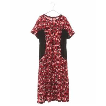 HIROKO BIS / 【洗濯機で洗える】ランダムドットプリントドレス