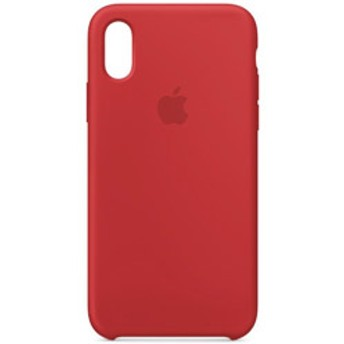 iPhone XS シリコーンケース (PRODUCT)RED MRWC2FEA