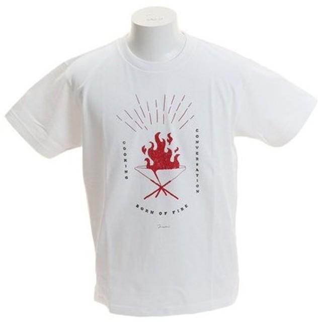 クリフメイヤー(KRIFF MAYER) アーティストコラボTシャツ [TAKIBI] 1919906-1-WHT (Men's)