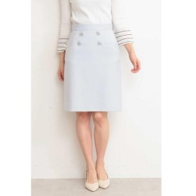 PROPORTION BODY DRESSING / プロポーションボディドレッシング  フラワービジューダブルクロススカート