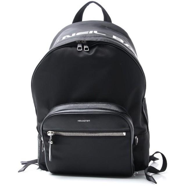 ニールバレット NeIL BarreTT バックパック NYLON & LEATHER CLASSIC BACK PACK リュックサック ブラック メンズ bbo201-l9121-524