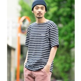 【アーバンリサーチ/URBAN RESEARCH】 Sonny Label Champion 別注ボーダー刺繍バスクシャツ