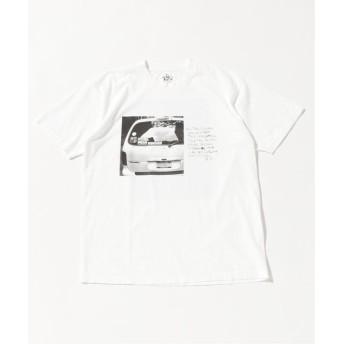 ジャーナルスタンダード BOB RICHARDSON×JS/ BOB RICHARDSON別注 : WAITLESS Tシャツ メンズ ホワイトA L 【JOURNAL STANDARD】