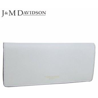 【2019春夏新作】 ジェイアンドエムデヴィッドソン/J&M DAVIDSON レディース 長財布 PLAIN FLAP WALLET 10170 7470 9060