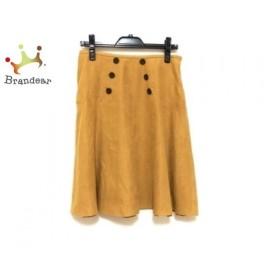 ホコモモラ JOCOMOMOLA スカート サイズ40 XL レディース イエロー  値下げ 20190819