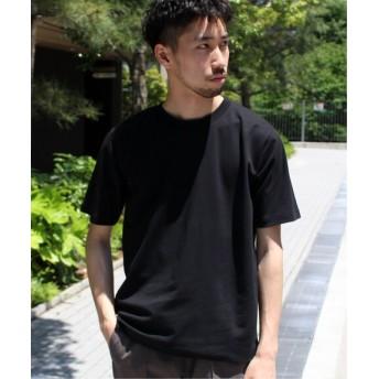 EDIFICE 【撥水&汗染み防止】FUNCTIONAL COTTON Tシャツ ブラック S