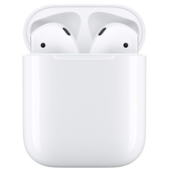 apple アップル AirPods 第2世代 with Charging Case MV7N2JA (2472307) 送料無料