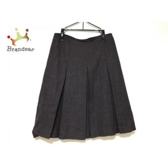 トゥモローランド TOMORROWLAND スカート サイズ36 S レディース パープル×黒 スペシャル特価 20190902