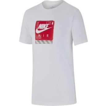 [NIKE]ナイキ ジュニア YTH エア シュー ボックス Tシャツ (BV0144)(100) ホワイト[取寄商品]