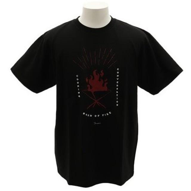 クリフメイヤー(KRIFF MAYER) アーティストコラボTシャツ [TAKIBI] 1919906-4-BLK (Men's)