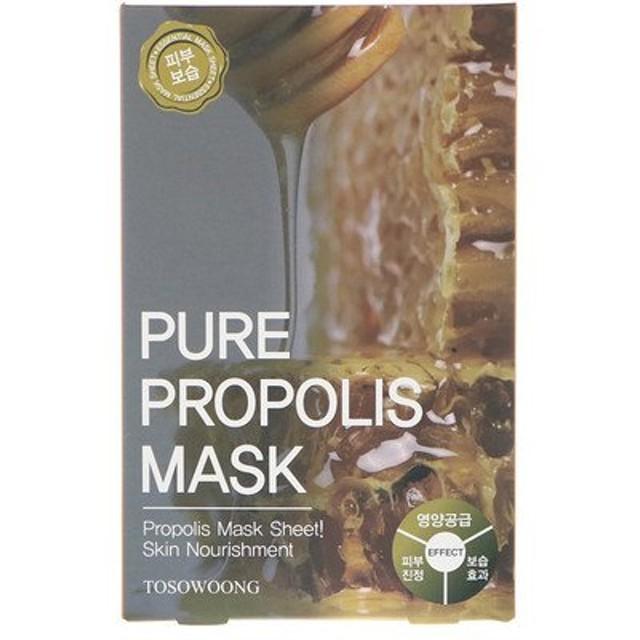 ピュアプロポリスマスク、10枚、各25 g