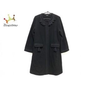 リリーブラウン Lily Brown コート サイズF レディース 黒 冬物 新着 20190521