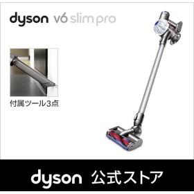 【クリアランス】ダイソン Dyson V6 Slimpro サイクロン式 コードレス掃除機 DC62ENT2PLS