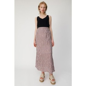 MOUSSY マウジー CHECK SUCKER スカート