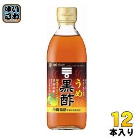 ミツカン うめ黒酢 6倍希釈用 500ml 瓶 12本 (6本入×2 まとめ買い)〔果実酢〕