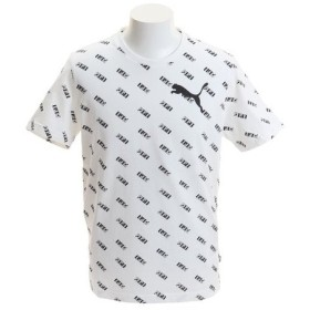 プーマ(PUMA) SUMMER ロゴ AOP 半袖Tシャツ 845196 02 WHT (Men's)