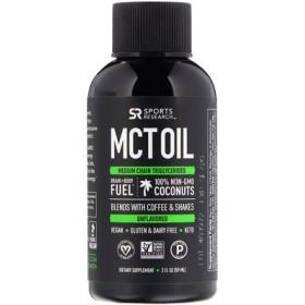 MCTオイル、無風味、2 fl oz (59 ml)