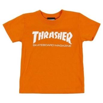 THRASHER ジュニア MAG ロゴ Tシャツ TH8101KO-HL (Jr)