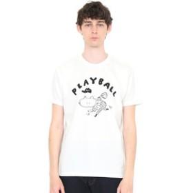 【グラニフ:トップス】グラニフ Tシャツ メンズ レディース 半袖 プレイボール