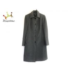 ダナキャラン DKNY コート サイズ6 M レディース 美品 グレー 冬物 新着 20190521
