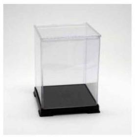 透明プラコレクションケースフィギュアケース人形ケース W 15×D 15×H 20 cm[151520](透明プラ,
