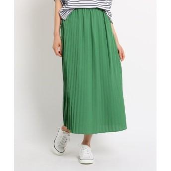 Dessin / デッサン 【WEB限定】【Lサイズあり】【ウエストゴム】選べるカラープリーツスカート