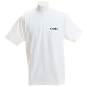 クリフメイヤー(KRIFF MAYER) ブランドロゴTシャツ 1919902-1-WHT (Men's)