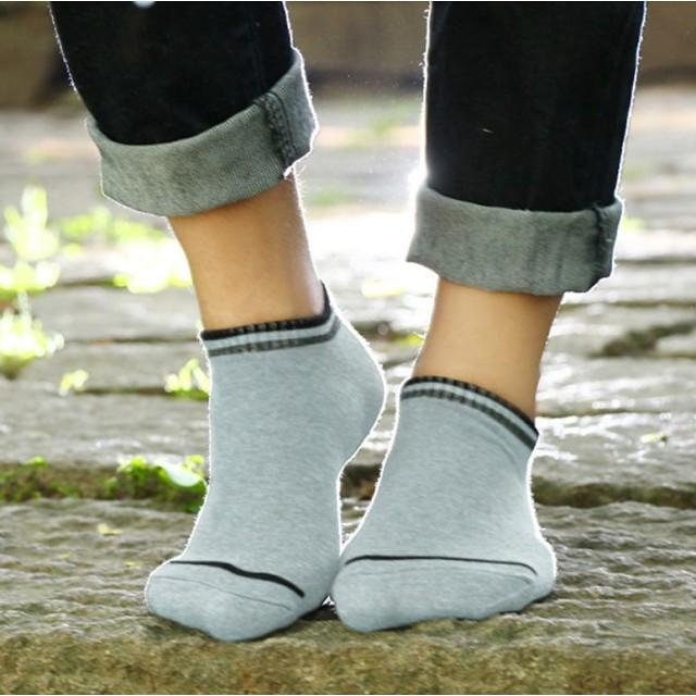 10d1af45c7accf ソックス - PlusNao 靴下 ソックス くつした ショートソックス メンズ シンプル ライン 無地 大人 クール 綿 くるぶし
