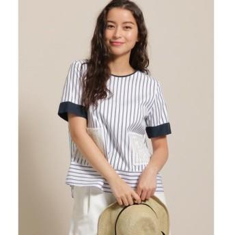 anatelier / アナトリエ nesessaire×anatelier(ネセセア×アナトリエ)レースポケットシャツ