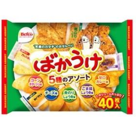 (まとめ)栗山米菓 ばかうけアソート〔×10セット〕【配達日時指定不可】
